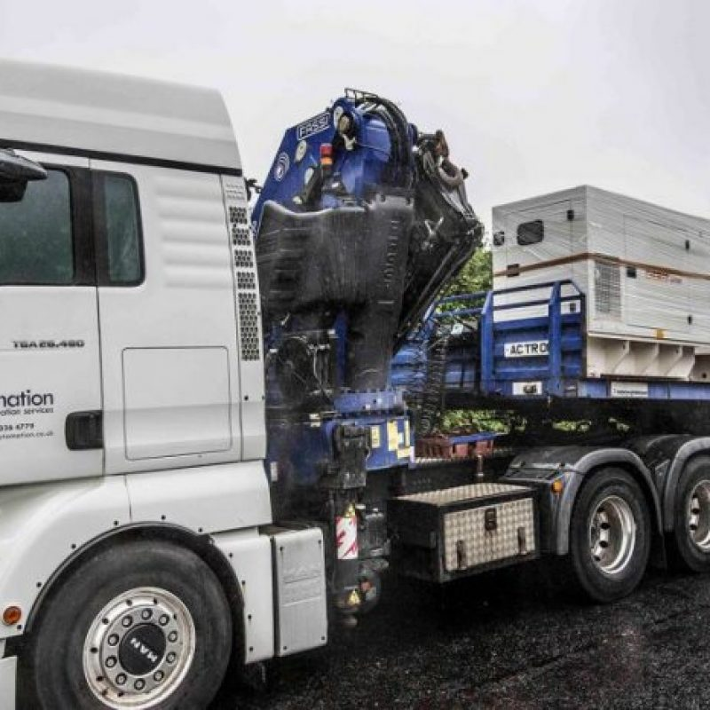 marapco-project-northern-ireland-electricity-nie-white-generator-truck